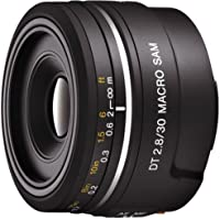 Sony Dt 30mm F2.8 Macro SAM Sal30m28 Lens for a Mount - International Version (No Warranty)