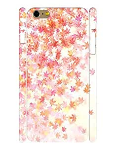 Fantastic Collection Mobile Phone Case With Elegant Maple Leaves Graphic Solid Case Cover for Iphone 6 Plus (5.5-inch) wangjiang maoyi