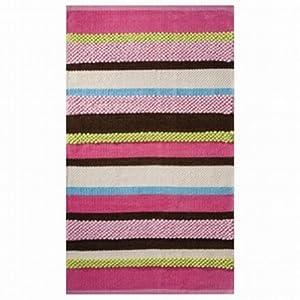 Amazon Com Circo Pink Green Brown Blue Textured Stripe