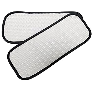 2 Washable Steam Mop Pads to fit Eureka Enviro 310A 311A 313A Replaces 60978 60980 60980A