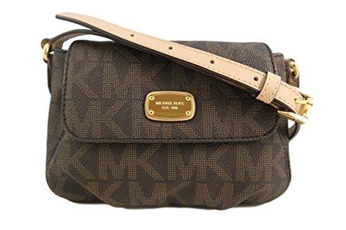 michael-kors-signature-pvc-small-flap-crossbody-bag-brown