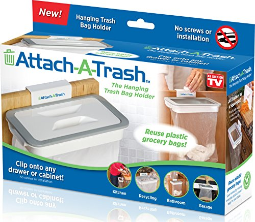 Attach-A-Trash The Hanging Trash Bag Holder