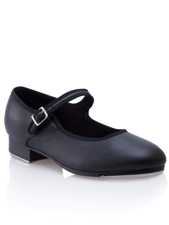 Capezio Women's Mary Jane Tap Shoe - Black, 5 W US by Capezio