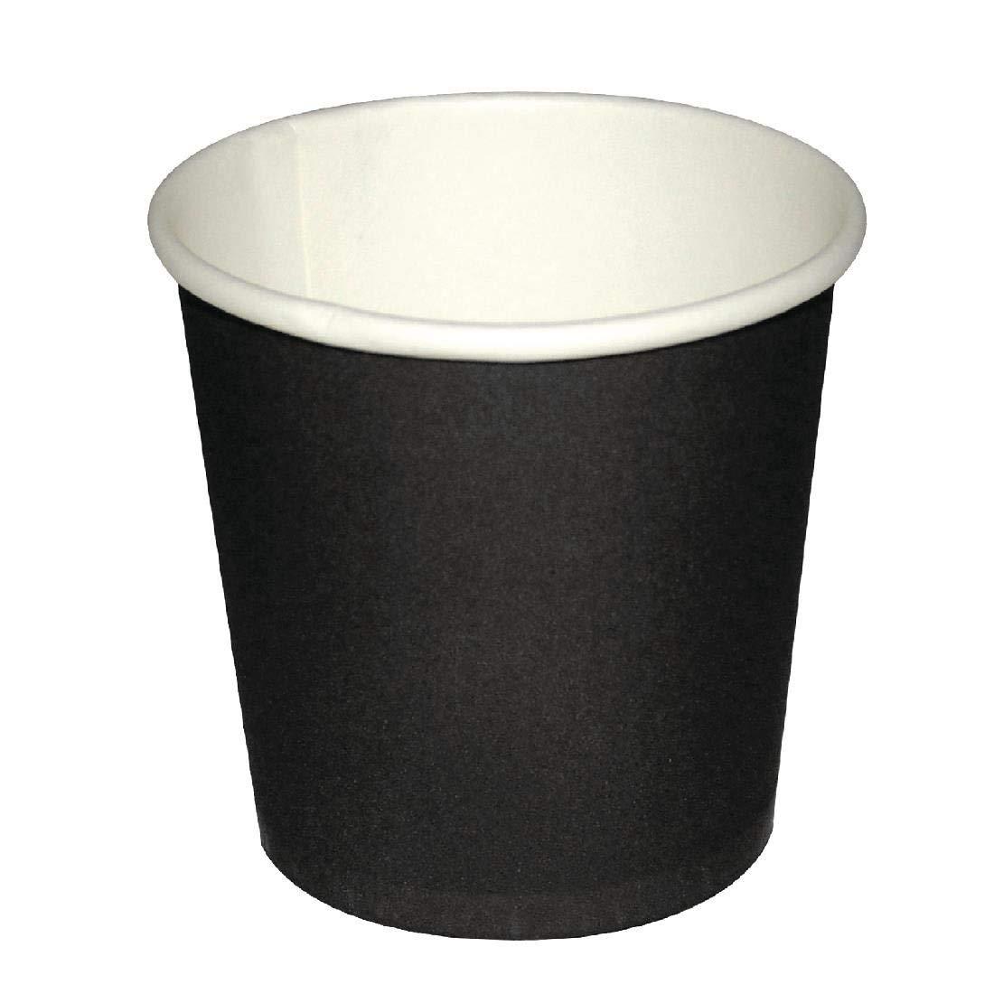 Fiesta GF019 Espresso Cups, Black (Pack of 50)