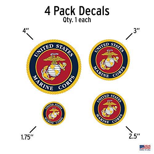 Buy marine corps decals
