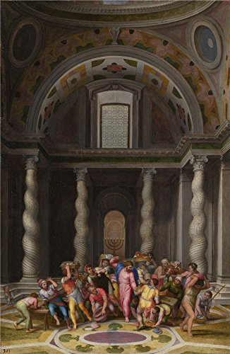 oil-painting-marcello-venusti-the-purification-of-the-temple-18-x-28-inch-46-x-70-cm-on-high-definit