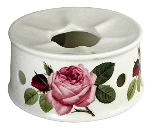 Roy Kirkham Versailles Rose Teapot Warmer Fine Bone China (Versailles Candle)