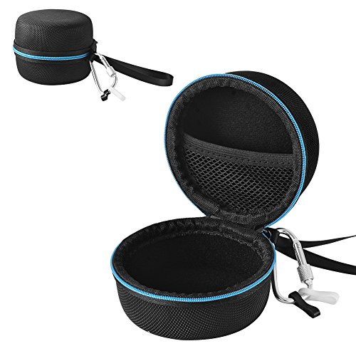 Echo Dot Case, Sicanal Portable Carrying Travel Protective Hard Nylon Bag for Amazon Echo Dot (2nd Generation) with Carabiner