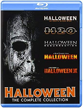 Halloween Blu Ray Box Set.Halloween Complete Collection Blu Ray Import Amazon Ca Dvd