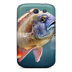Top Quality Rugged Victorian Cichlids Case Cover For Galaxy S3