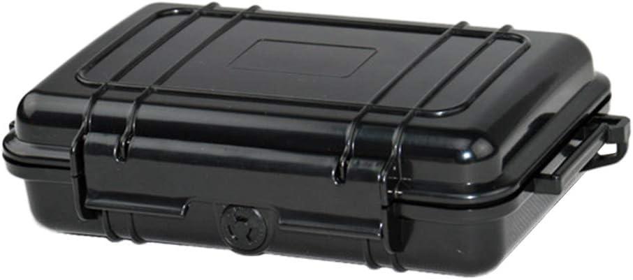 Lixada Bo/îte /à Outils en Plastique ABS r/ésistant /à leau Bo/îte /à Outils en Plein air Bo/îte s/èche Tactique Bo/îte de Rangement scell/ée pour /équipement de s/écurit/é