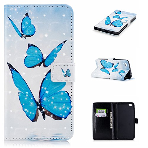 Funda con Tapa para Xiaomi Redmi Note 5A, Vandot 3D Creativa Diseño de Flamenco Pintado Impresión Estuche Carcasa Premium PU Cuero Magnético Flip Case Cover con Función de Soporte y Ranuras para Tarje CHPT-2