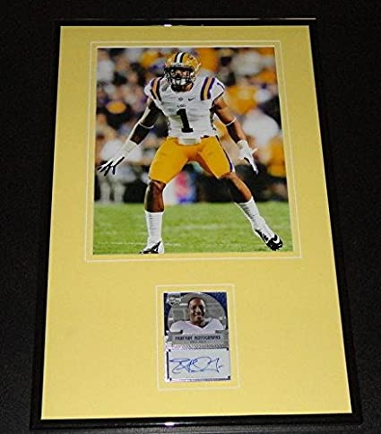 best cheap 1f30f ecc3c Eric Reid Signed Framed Rookie Card & Photo Display LSU ...