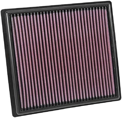 Ok&N Engine Air Filter: High Performance, Premium, Washable, Replacement Filter: Fits 2015-2019 Chevy/GMC Colorado and Canyon, 33-5030