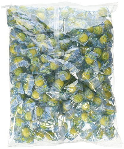 Lemonhead Hard Candy, Lemon, 3.75 Pound Bulk Candy (Bulk Lemon Drops)