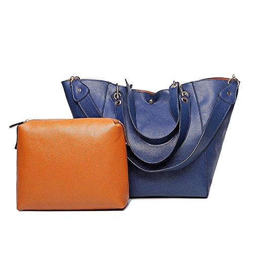 ZUNIYAMAMA - Bolsa Mujer Azul