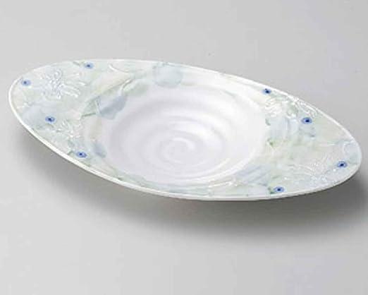itchin ovalada de 31,5 cm juego de 10 platos de tamaño mediano de ...