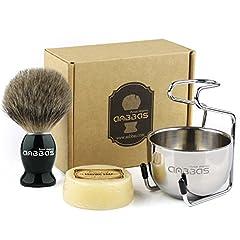 Shaving Brush Set,4in1