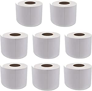 8 Rolls Dymo Compatible S0904980 Shipping Labels 4 x 6 Dymo 4XL Postage 1744907 (220 Labels Per Roll) 104mm x 159mm SD0904980