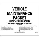 Vehicle Maintenance File Packets (Qty: 5 Units)