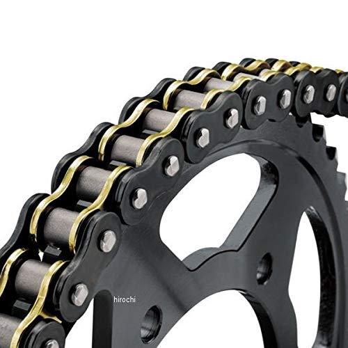 バイクマスター BikeMaster チェーン Z-リング 530BMZR 150リンク 黒/ゴールド 197436 530BMZR-150/BG   B01MSQLE0K