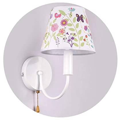 Children Wall Lamp Pull Chain Switch E40 Bedroom Bedside Reading Interesting Bedroom Wall Sconces For Reading