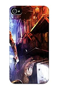 Hot Snap-on Wei Shen Sleeping Dogs Hard Cover Case/ Protective Case For Iphone 4/4s