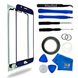 Front Glass for Samsung Galaxy S6 G920 Series Blue Display Touchscreen incl Tool Kit / Pre-cut Sticker / Tweezers / Roll of 2mm Adhesive Tape / Suction Cup / Metal Wire / cleaning cloth MMOBIEL