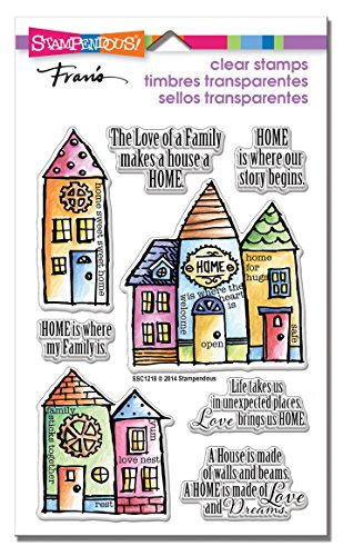 Stamps Family (STAMPENDOUS Family Home Clear Stamps)
