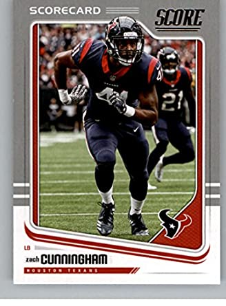 Amazon.com  2018 Score Scorecard  132 Zach Cunningham Houston Texans ... c2127608f