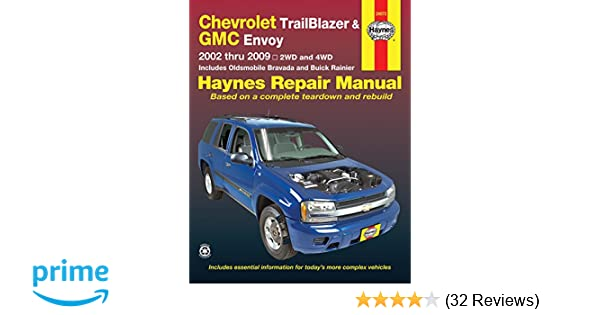 Chevrolet trailblazer and gmc envoy 2002 2009 repair manual haynes chevrolet trailblazer and gmc envoy 2002 2009 repair manual haynes repair manual haynes 9781563929618 amazon books fandeluxe Image collections
