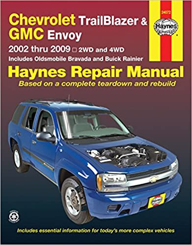 Chevrolet trailblazer and gmc envoy 2002 2009 repair manual haynes chevrolet trailblazer and gmc envoy 2002 2009 repair manual haynes repair manual 1st edition fandeluxe Choice Image