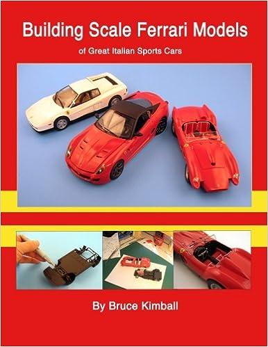 Building Scale Ferrari Models Of Great Italian Sports Cars Kimball Bruce 9781481852265 Amazon Com Books