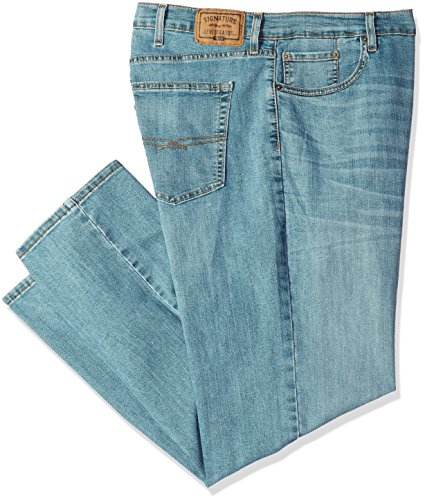 Signature by Levi Strauss & Co. Gold Label Men's Big and Tall Relaxed Fit Jeans, Titan, 50W x 30L ()