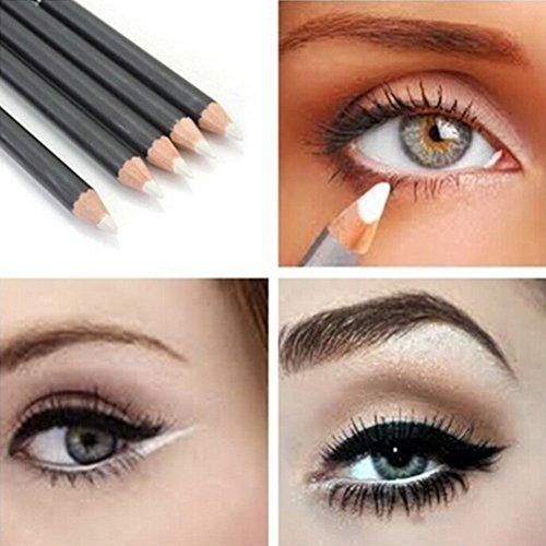 White EyeLiner Pencil Smooth Waterproof Cosmetic Beauty Makeup Eyeliner Pen by Team-Management