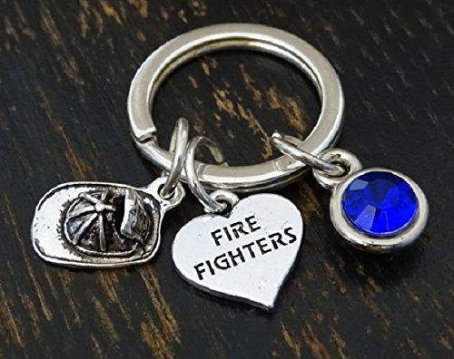 - Firefighter Keychain, Firefighter Charm, Firefighter Pendant, Firefighter Key chain, Firefighter Gift, Firefighter Dad, Fireman Keychain, Fireman Key Chain, Fireman Gift, Gift for Firefighter