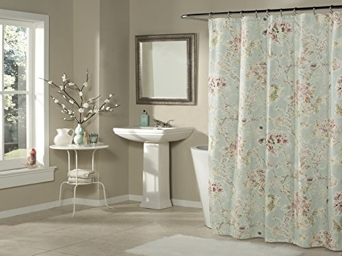 Mstyle Millie Shower Curtain Aqua 70OFF