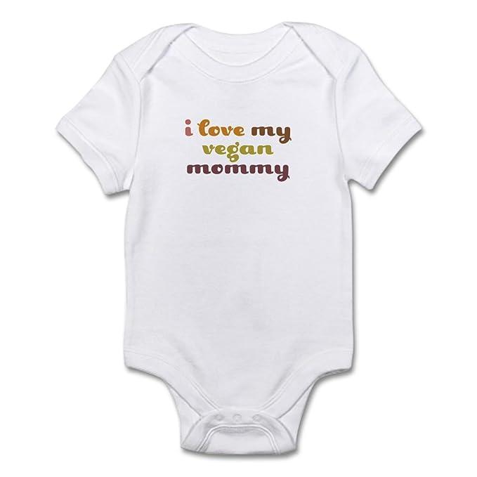8e33d58f3 CafePress - I Love My Vegan Mommy Onesie - Cute Infant Bodysuit Baby  Romper: Amazon.ca: Clothing & Accessories