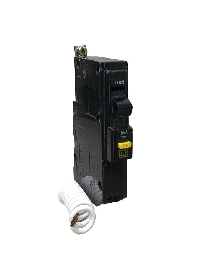 Quik Gard Square D 20A 120V 60Hz 10000 Air/A Nom. I Circuit Breaker QOB120GFI