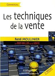 Les techniques de la vente par René Moulinier