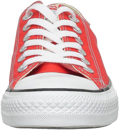 Converse AS Season Ox Can 132303C, Sneaker unisex adulto Blanco-rojo