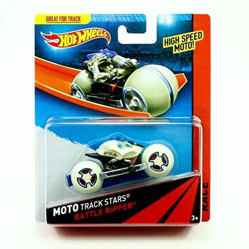RATTLE RIPPER Hot Wheels 2013 Moto Track Stars High Speed Motorcycle (BDN50)