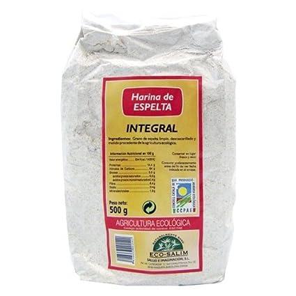 harina espelta int eco int-salim 500 gr: Amazon.es: Salud y ...