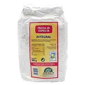 IJSALUT - Harina Espelta Int Eco Int-Salim 500 Gr: Amazon.es ...