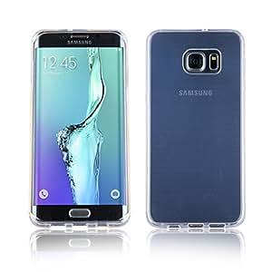 iDefend Samsung Galaxy S7 Funda Protectiva de Silicona Gel TPU estrecha Claro