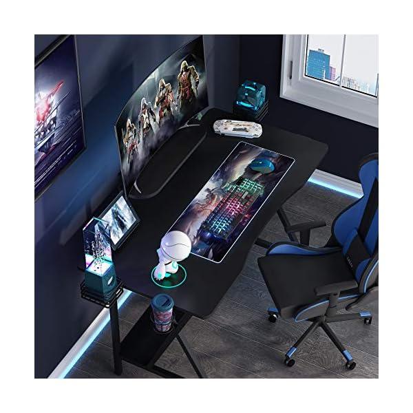 Tribesigns Bureau d'ordinateur Bureau de Jeu Bureau d'écriture Bureau d'étude PC Portable Ordinateur Portable Table de…