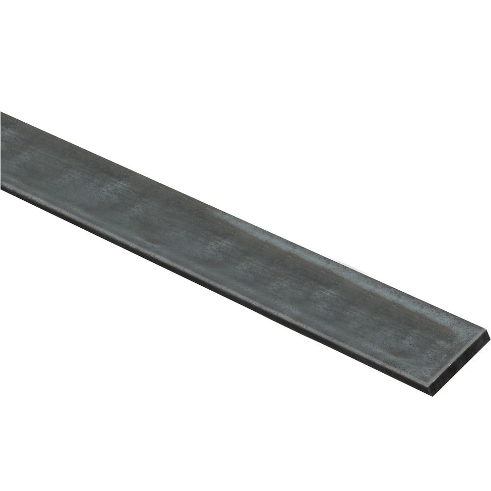 National Hardware N316-216 4064BC Solid Flat in Plain Steel, 1-1/2 x 36''