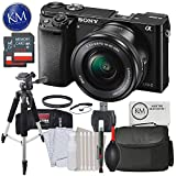 Cheap Sony a6000 Mirrorless Camera w/16-50mm Lens & 64GB Deluxe Photo Bundle