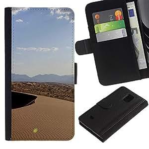 JackGot ( Natura Bella Forrest verde 127 ) Samsung Galaxy S5 Mini (Not S5), SM-G800 la tarjeta de Crédito Slots PU Funda de cuero Monedero caso cubierta de piel