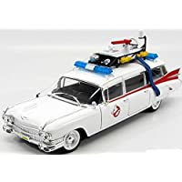 Mattel Hot Wheels Collector Ghostbusters Ecto-1 Die-Cast Vehicle (1:18 Scale)